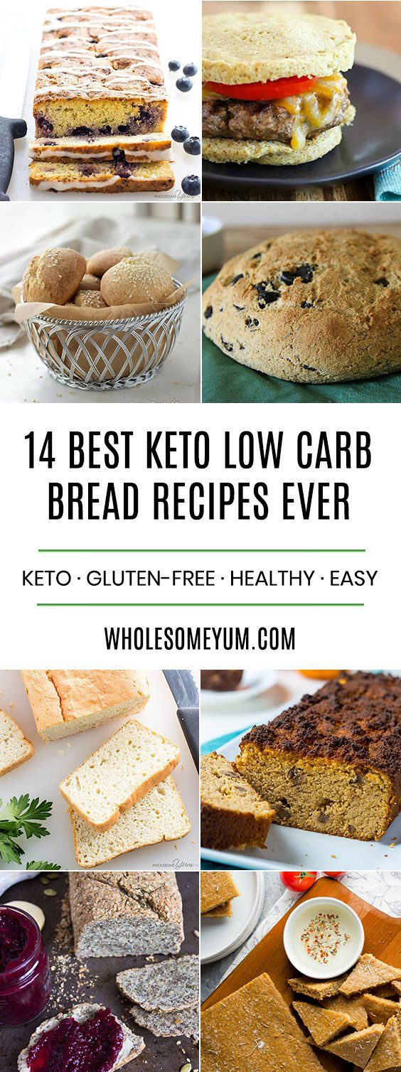 What's the most common food item that people miss on a low-carb or keto diet? Bread! The good news is, you don't have to miss out with all of the amazing low-carb bread recipes that are available.