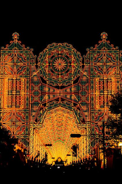 """Kobe luminarie / Hyogo.japan /December every year since 1995 and requiem for the reconstruction of the """"Hanshin-Awaji earthquake 1995.1.17"""""""