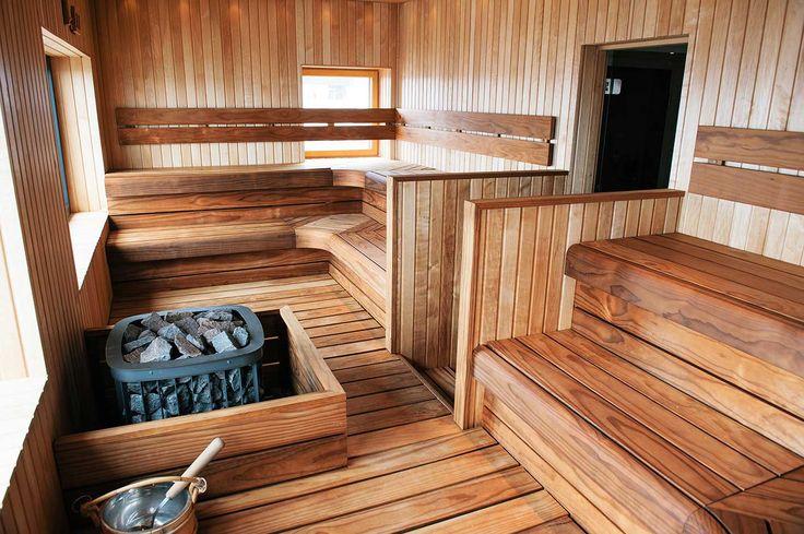Leverans av bastuinredning till Quality Hotel Lapland i Gällivare