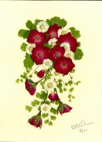 Pressed flowers 750 3rd place winner 2009 goyang international pressed flower art