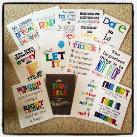 Crafty Counselor Chick: Inspirational Posters {free printable}