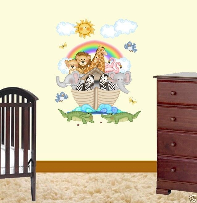 21 best images about noah 39 s ark on pinterest nursery for Room decor 5d stickers