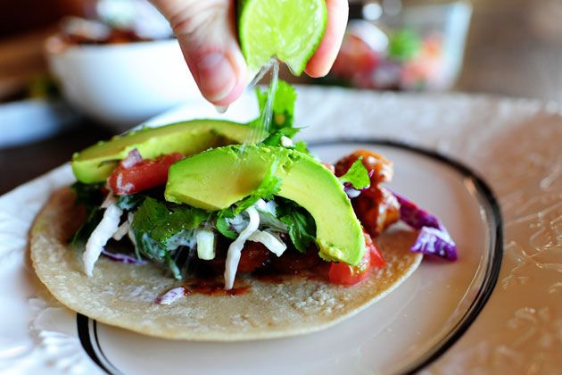 Shrimp Tacos. I could eat them morning, noon, and night.