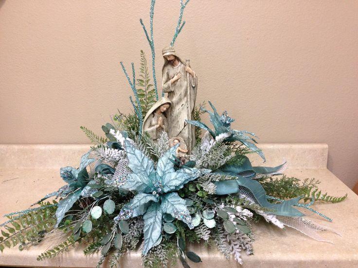 Icy Blue Nativity