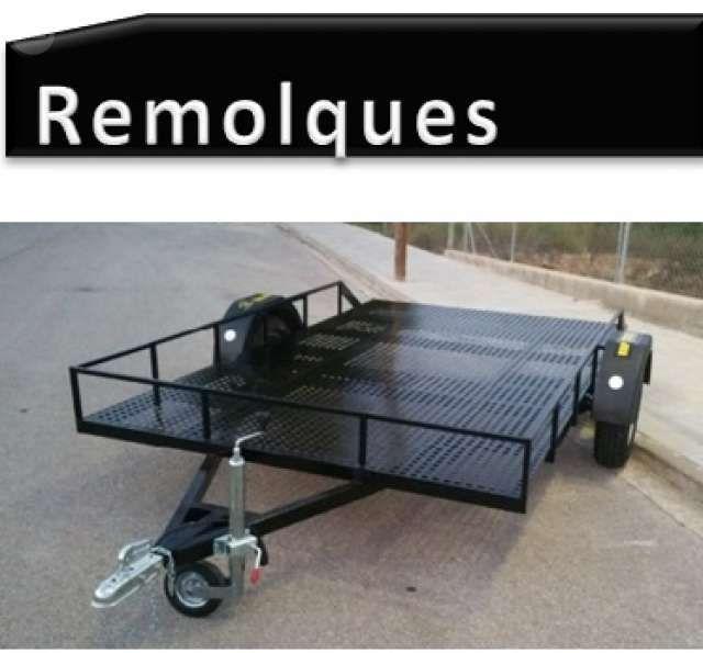 REMOLQUE PLATAFORMA CUBIERTA - R 1178 - foto 1