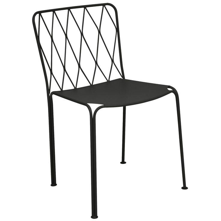 Kintbury stol, liquorice i gruppen Utemöbler / Utemöbler / Trädgårdsstolar hos RUM21.se (132684)