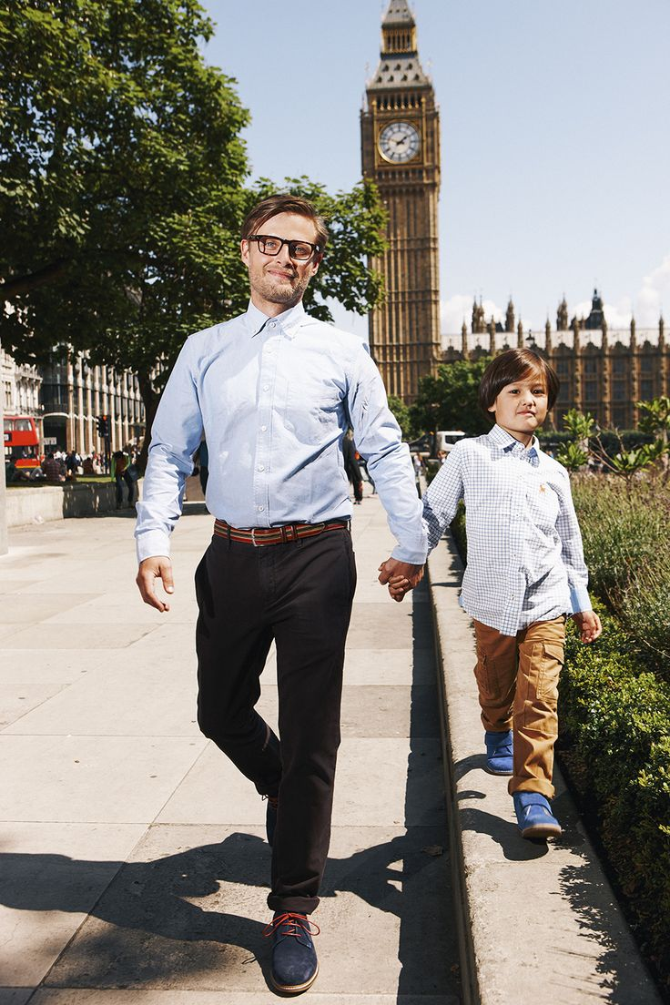 Like Father, like Son… Shop now with 15% off and free delivery with code PIN1 (UK) or PIN2 (US) #Boden #AW14