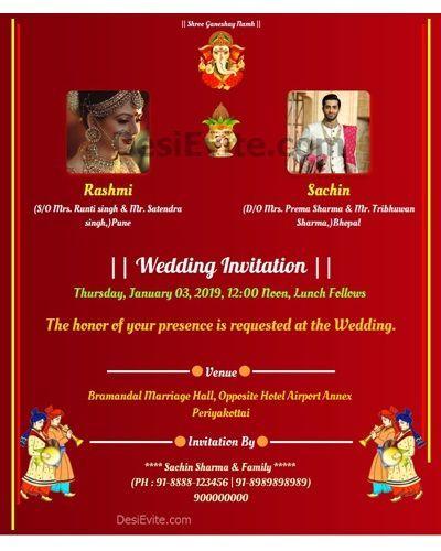 14 New Marriage Invitation Card Format In Kannada Image Tags Wedding Invitation Card Fo Invitation Card Format Marriage Invitation Card Marriage Invitations