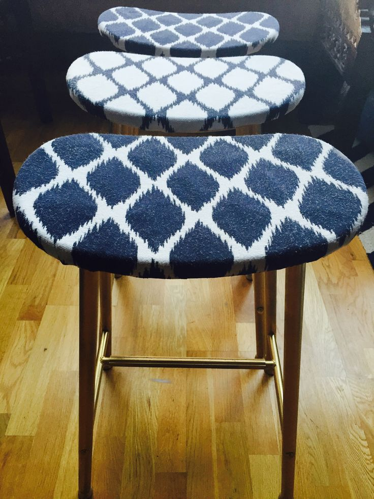 My Latest DIY Project - Making Some Very Unattractive Stools Pretty.