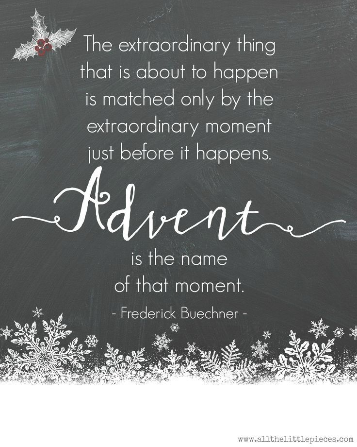 Beautiful And Extra Ordinary Picture: Extraordinary Advent. (Free Printable