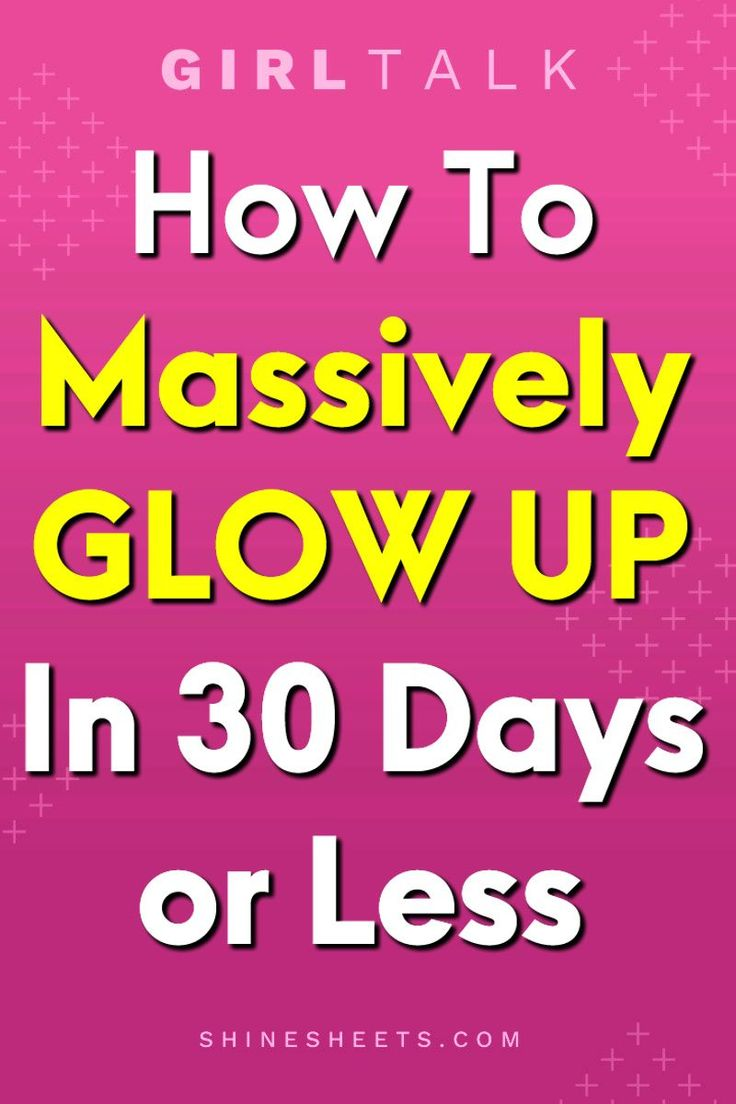 Glow up challenge how to prettier in one month