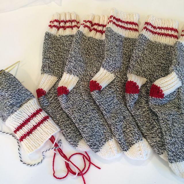 Ravelry: Winter Socks for the Family pattern by SheepyShenanigans