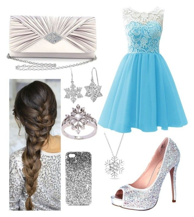 """elsa"" by valen247 on Polyvore featuring Lauren Lorraine, Bling Jewelry, Sasha, La Preciosa and Topshop"