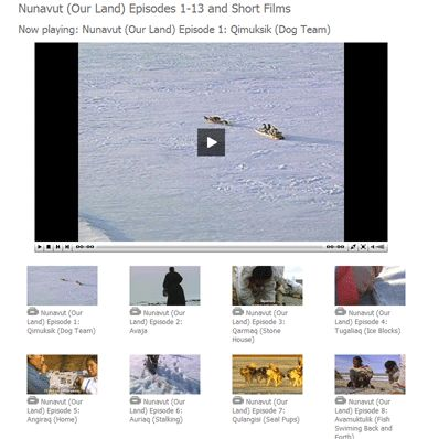 Inuit lapbook, crafts, and videos {Canada}