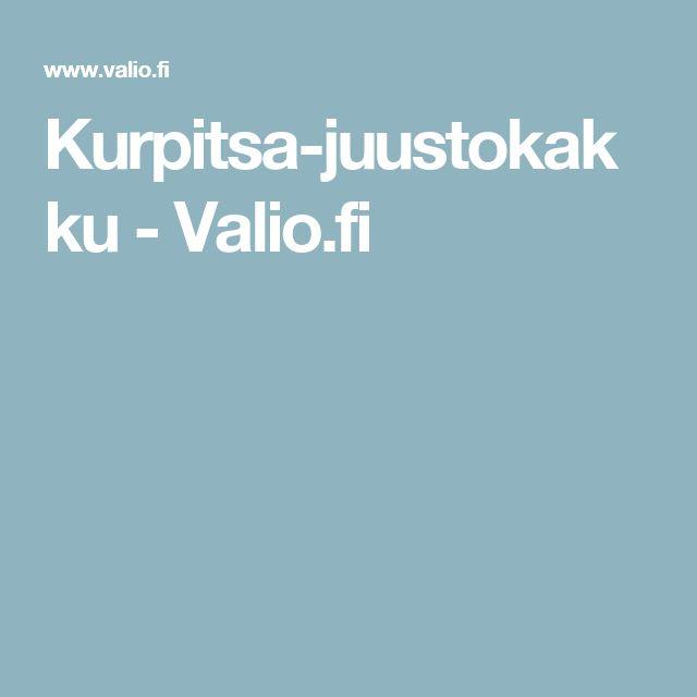 Kurpitsa-juustokakku - Valio.fi