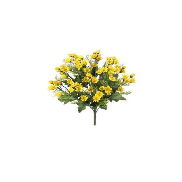 Bouquet de minis marguerites jaunes 18''