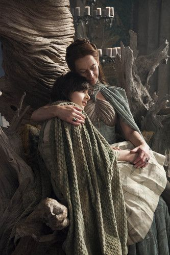 Lysa and Robin Arryn ~ Game of Thrones