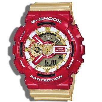 จัดเลย Casio G-Shock GA-110CS-4 Ironman นาฬิกาผู้ชาย ราคาเพียง 3,559 บาท เท่านั้น คุณสมบัติ มีดังนี้ Casio G-Shock GA-110CS-4 Ironman นาฬิกาผู้ชาย ทนทานต่อคลื่นแม่เหล็ก ทนทานต่อแรงสั่นสะเทือน กันน้ำลึก200เมตร