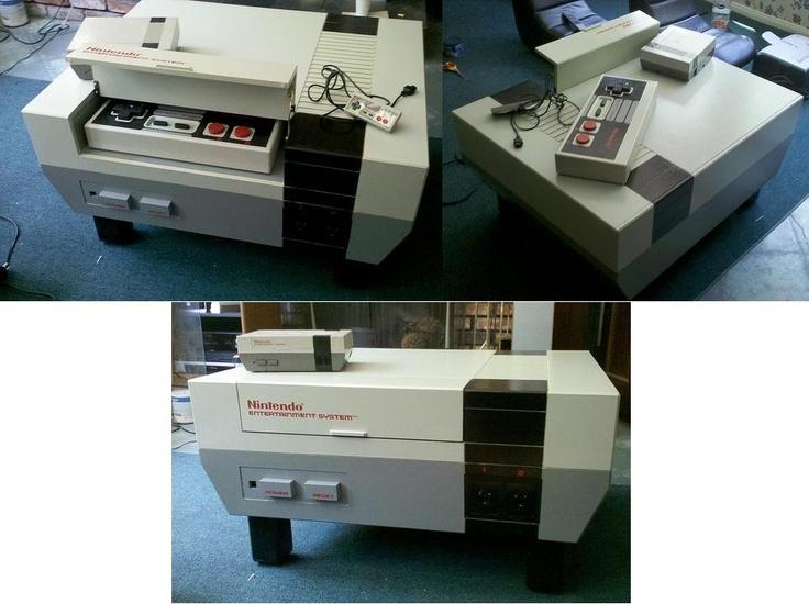 Matt Cyborgelt   Nintendo Table U0026 Oversized Controller, Interior Design,  Home Decor, Furniture