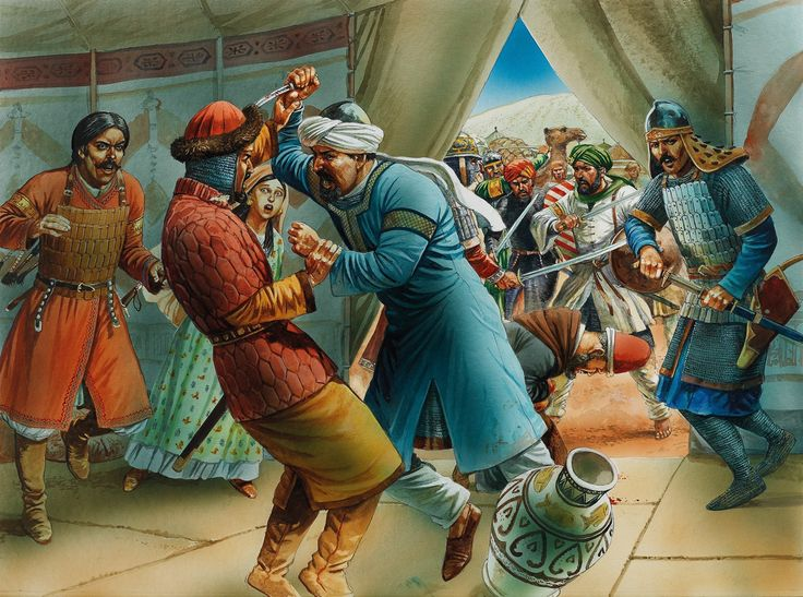Isma'ili 'Assassins' attempt to kill Saladin during his siege of Aleppo, 22 May 1175