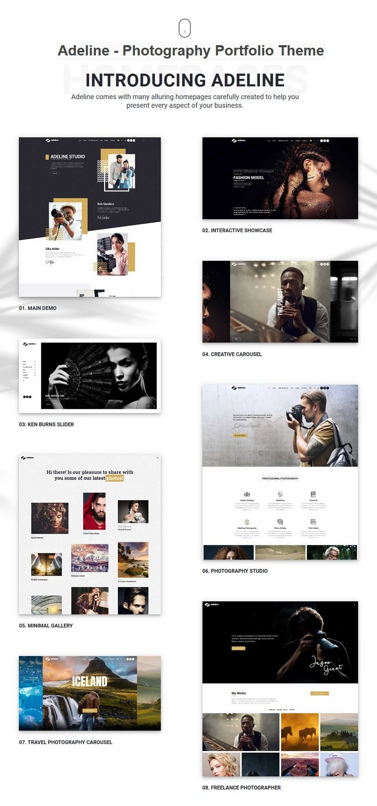 Lumière is clean, flawless and modern design responsive #