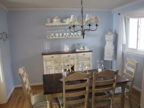 Cottage Blue Rustoleum Behr Caribbean Mist Blue Dining