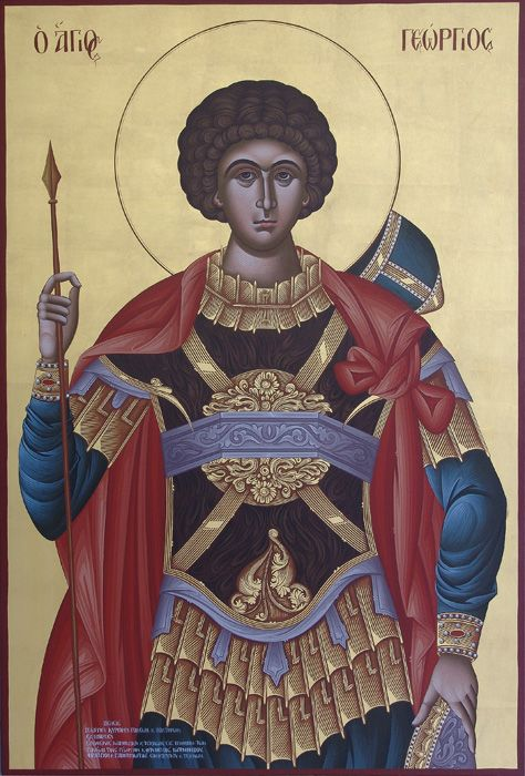 ICON PAINTING WORKSHOP J.VEGKOS M.KILLET, HANDMADE BYZANTINE RELIGIOUS PAINTINGS, CHURCH, SAINTS