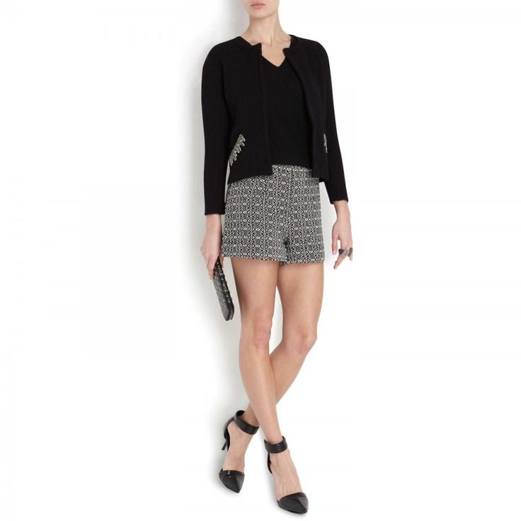 @Maison_Olga Woven cotton blend shorts, New In Women, Harvey Nichols Store View  @Harvey Nichols