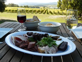 Sit down and relax and be mesmerised by the scenic beauty of the Tamar Valley Wine Region. Accommodation can be booked at www.adinaplace.com.au #Winelovers #Winery #Tasmania #Australia #HiRUM