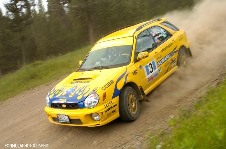 2002 Subaru WRX Wagon (My Rally Car)