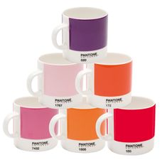 I would feel ultra classy sippin' espresso out of these...Mixed Red, Pantone Universe, Espresso Sets, Pantone Cups, Espresso Cups, Universe Espresso, Products, Pantone Espresso, Mugs