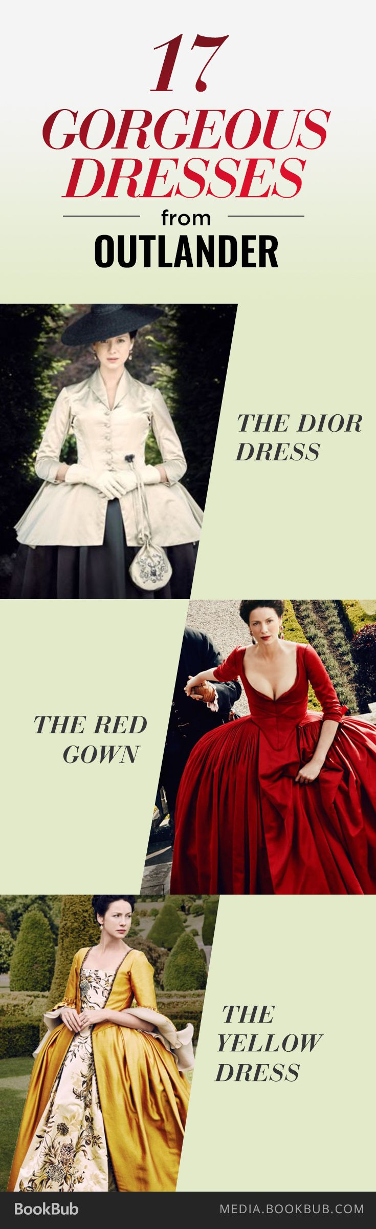 The 17 most gorgeous dresses from Outlander season 2.                                                                                                                                                                                 More