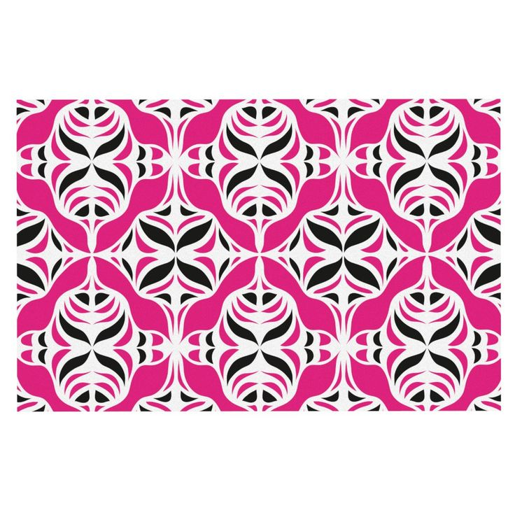 "Miranda Mol ""Think Pink"" Decorative Door Mat"