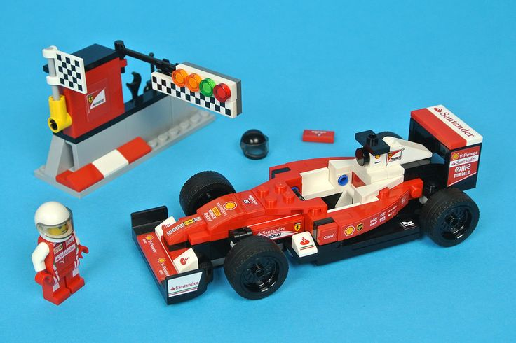 Formula One racing cars have been the subject of LEGO products since the 1970s and their design has evolved according to the changing selection of pieces available. 75879 Scuderia Ferrari SF16-H represents the latest model in the series and has been released alongside 75883 Mercedes AMG Petronas Formula One Team.