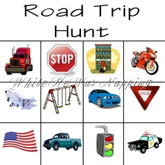 I love these templates for road trip hunts from @whilehewasnapping! It is