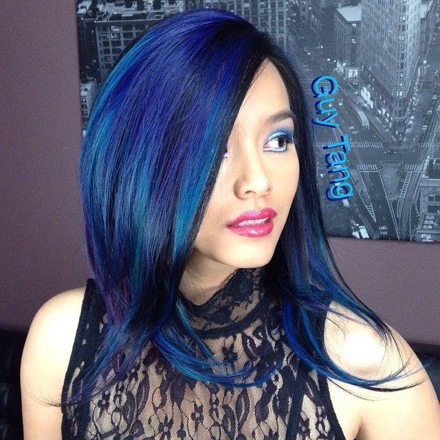 Credit guy tang hair artist hair for 360 the colour bar salon