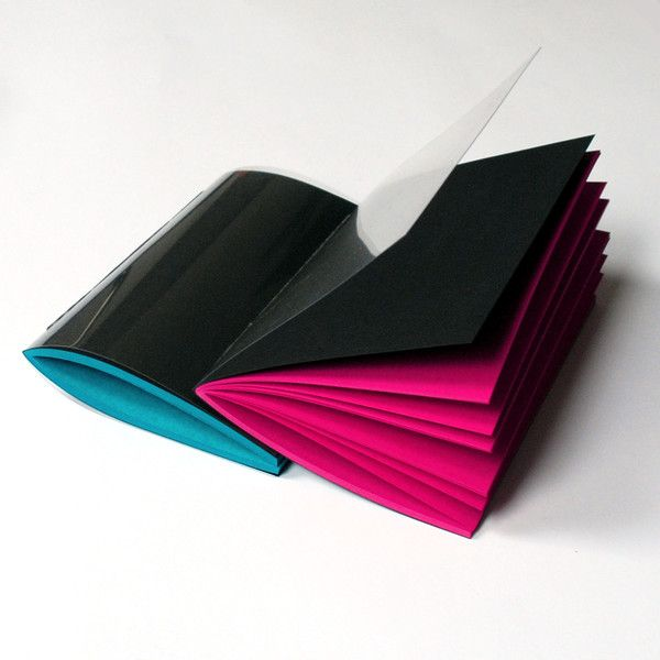 Special Format – notebook set with plexiglass covers 20x14cm – a unique product by Kajet on DaWanda