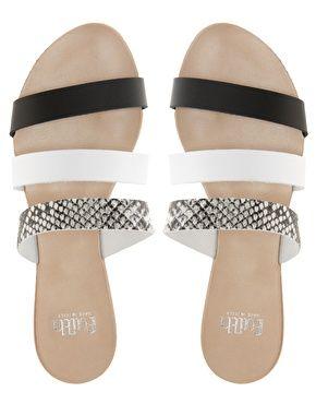 Faith Javona Slide Flat Sandals 47 52 Shoes Flat