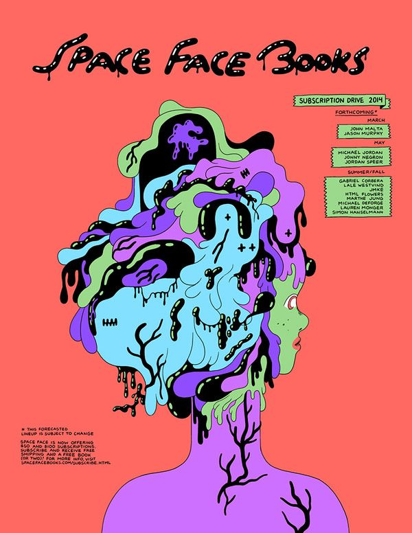 Michael Deforge - Space Face Books