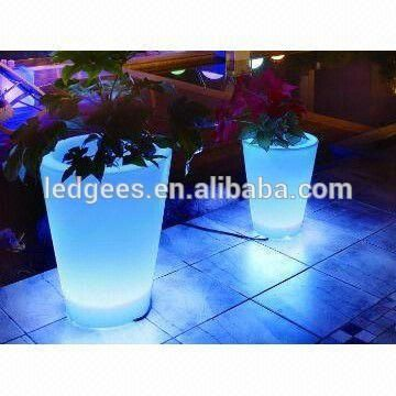 Source Container Home ! IP68 LED Light Manufacturers Pot With Plant Color Changing and Remote Control on m.alibaba.com