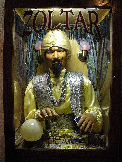 LAS VEGAS ZOLTAR ARCADE GAME Circus Circus & SLOTS A FUN Nevada CASINO (6) by Christian Montone, via Flickr