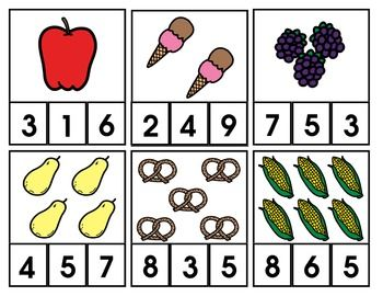 A different way to learn to count 1-12! Students can clip a clothes pin onto the correct number and use again and again! If you like these, I have another FREEBIE with dinosaurs on my TpT page. Check me out! :)