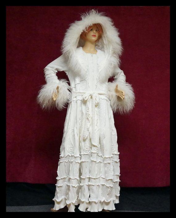 ELF Mantel Brautkleid Zigeuner Hochzeitskleid von 1UNIQUEDESIGN