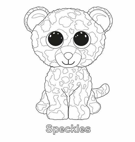 beanie boo coloring pages owls - photo#9
