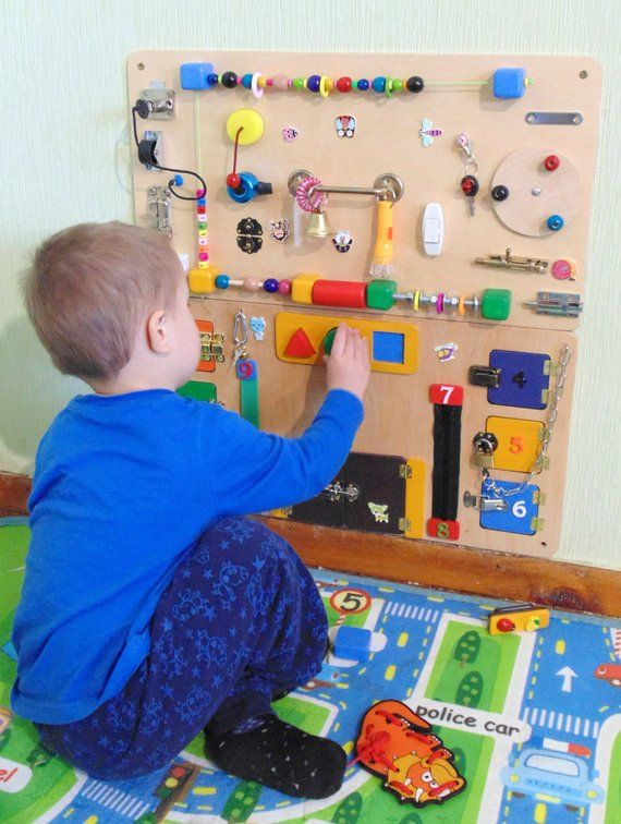 Busy Board Baby Montessori board toddler Sensory board ...