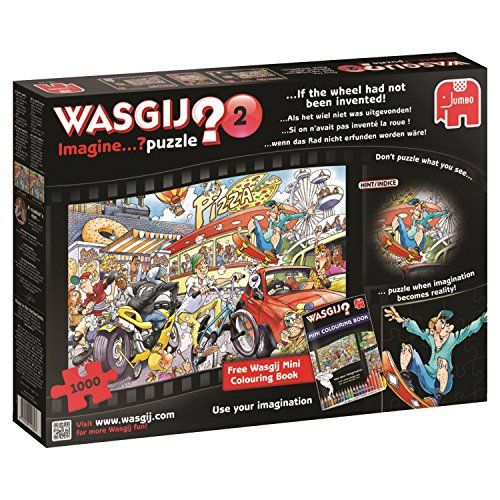 Wasgij If the Wheel Had Not Been Invented