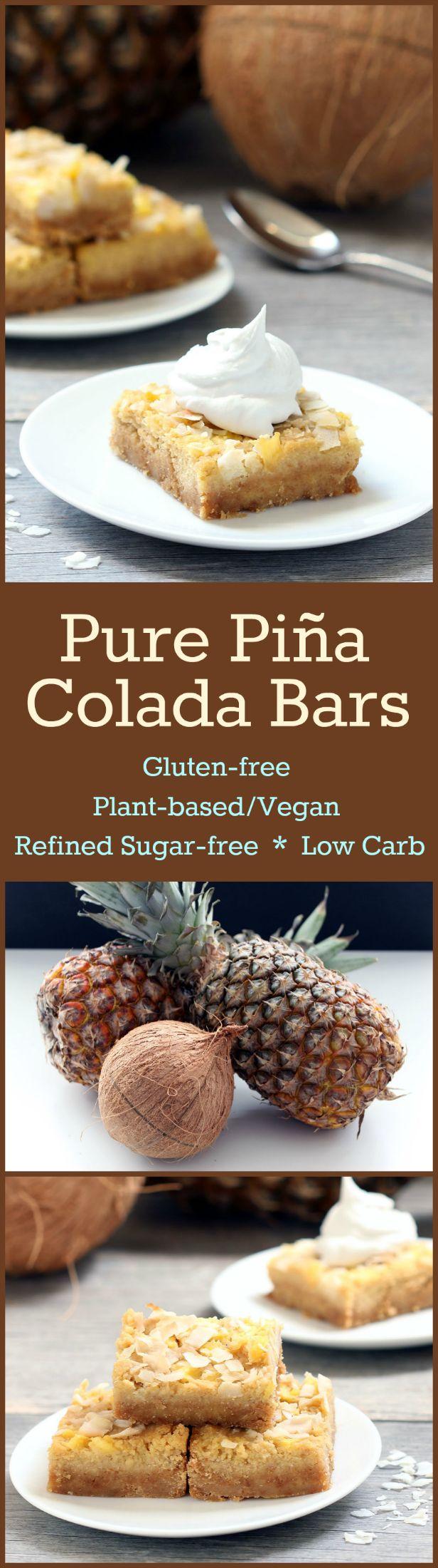 Pure Pina Colada Bar Collage