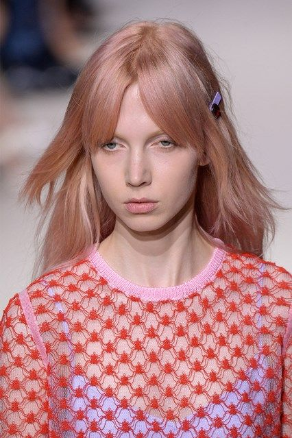 Visit GLAMOUR for the latest hair trend and hairstyle ideas pictures from the Spring Summer 2016 catwalk shows and beyond.