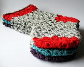 Three Granny Stockings