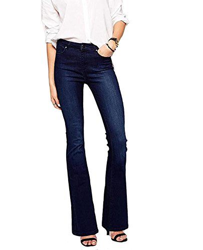 New Trending Denim: Women's Retro Casual Fashion Stretch Wide Legs Denim Jeans Plus Size Blue 38. Special Offer: $39.99 amazon.com Echoine Women's Vintage Slim Fit Wide Leg Denim Jeans Flared Trousers High quality! PLEASE CONFIRM Sold by Mycherish. 1. Unique seamless details will enhance the stomach,hip,bottom and abdomen area.It's comfortable to wear and enhances all your...